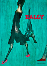 Acrylic print  Bally - Paris - Advertising Collection