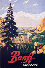 Canvas print  Banff - Travel Collection