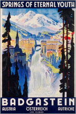 Premium poster  Bad Gastein (English) - Travel Collection