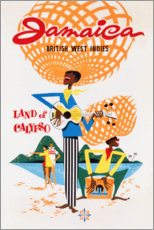 Premium poster  Jamaica (English) - Travel Collection