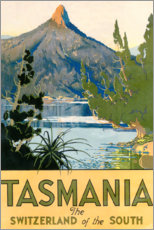 Premium poster  Tasmania, Switzerland of the South (English) - Travel Collection