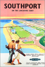 Premium poster  Southport Golf - Travel Collection