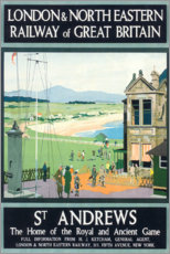 Premium poster  St Andrews (English) - Henry George Gawthorn