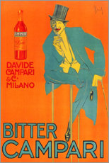Canvas print  Bitter Campari - Advertising Collection