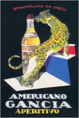 Premium poster  Gancia Vermouth Bianco (Italian) - Advertising Collection