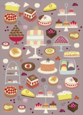 Gallery print  Cakes - Nic Squirrell