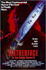 Acrylic print  Leatherface, Texas Chainsaw Massacre III - Entertainment Collection