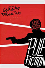 Wall sticker  Pulp Fiction (English) - Entertainment Collection