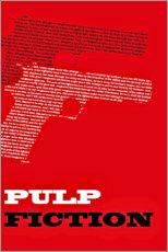 Gallery print  Pulp Fiction (English) - Entertainment Collection