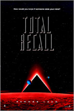 Wood print  Total Recall (English) - Entertainment Collection