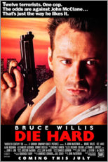 Premium poster  Die Hard (English) - Entertainment Collection