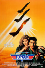 Canvas print  Top Gun - Entertainment Collection