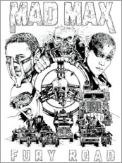 Premium poster  Mad Max: Fury Road - Entertainment Collection