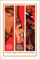 Premium poster Fistful of Dollars
