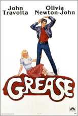 Foam board print  Grease - Entertainment Collection