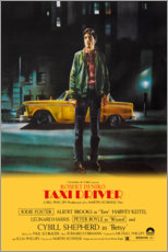 Aluminium print  Taxi Driver - Entertainment Collection