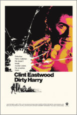 Premium poster Dirty Harry