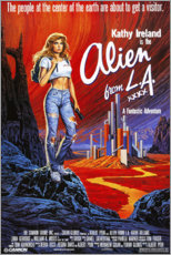 Canvas print  Alien from L.A. - Entertainment Collection