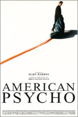Canvas print  American Psycho - Entertainment Collection