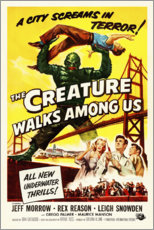 Premium poster The Creature Walks Among Us