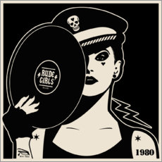 Premium poster Rude Girls Records I
