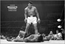 Premium poster  Boxing legend, Mohammed Ali - Celebrity Collection