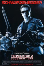 Aluminium print  Terminator 2 - Judgment day (English) - Entertainment Collection