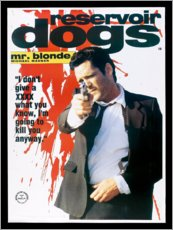 Canvas print  Reservoir Dogs (English) - Entertainment Collection