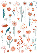 Premium poster  Flowers of the Summer - Nic Squirrell