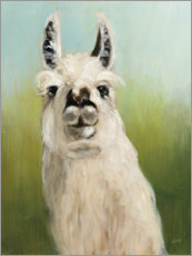 Foam board print  Who is your lama? - Julia Purinton