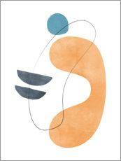 Gallery print  Abstract composition VIII - Nouveau Prints