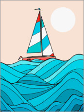 Premium poster Sail away with me