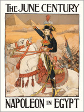 Canvas print  Napoleon in Egypt - Eugene Grasset