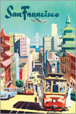 Canvas print  San Francisco - Travel Collection