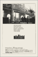 Wood print  Manhattan - Entertainment Collection