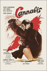 Canvas print  Cannabis (french) - Entertainment Collection