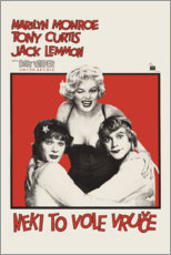 Gallery print  Some like it hot (Croatian) - Entertainment Collection