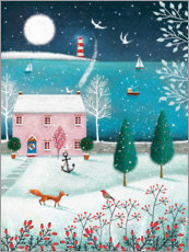 Gallery print  Christmas by the sea - Jo Parry