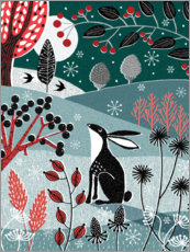 Wood print  Forest Folklore II - Jo Parry