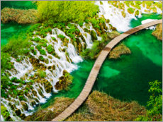Wall sticker  Plitvice Lakes in Croatia - Terry Eggers