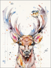 Canvas print  Deery Me - Sillier Than Sally