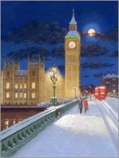 Premium poster  Winter in London - Alec Macdonald