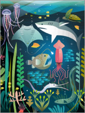 Premium poster  Under the sea - Amanda Shufflebotham