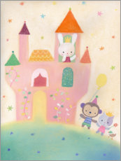 Canvas print  Our Fairytale Castle - Dubravka Kolanovic