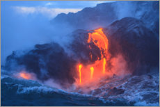 Wall sticker  Kilauea lava flow on Hawaii - Stuart Westmorland