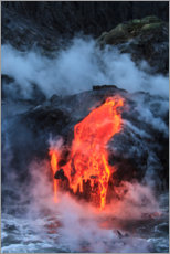 Wall sticker  Lava flow in Hawaii - Stuart Westmorland