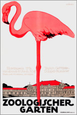 Premium poster  Zoological Garden (German) - Julius Klinger