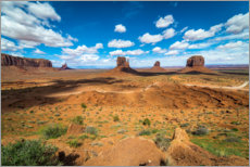 Foam board print  Monument Valley - Salvadori Chiara
