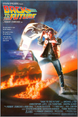 Foam board print  Back to the future - Entertainment Collection