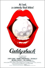 Wood print  Caddyshack - Entertainment Collection
